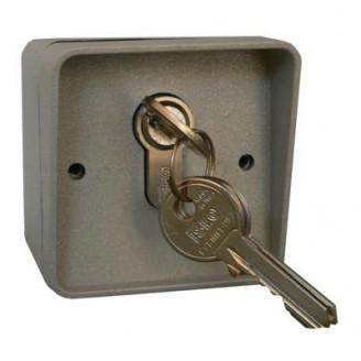 Kétállású kulcsos kapcsoló